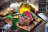 Caso Zip-Beutel, 20 Stück für Caso Geräte mit speziellen Vakkum-Adapter, Kochfest, Mikrowellen und Sous Vide geeignet, 20 x 23 cm - 6