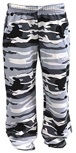 Redrum Unisex Jogginghosen »Plain« Camo Grey