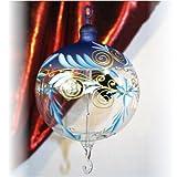 Lichtmühle Kugel Serie Harmonie 100 mm blau