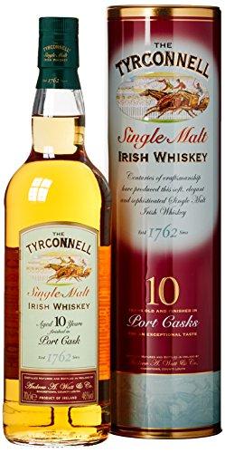 The Tyrconnell Port Finish Irish Whisky mit Geschenkverpackung 10 Jahre (1 x 0.7 l)