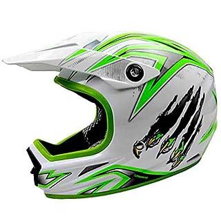 Kleine Off-Road Full Face Motorradhelm Jugendliche Erwachsene leichte Anti-Shock Sicherheit Motorradhelme Moto Motocross Helme Caps