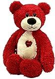 Erste & Main 1415 Ausschreibung Teddy Pl-schtiere - Red