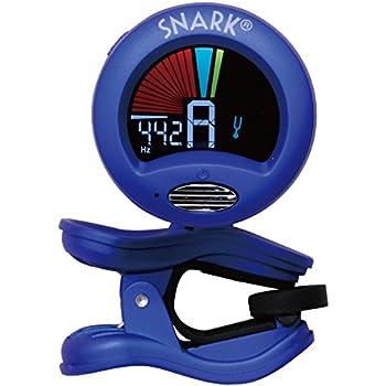 snark clip on chromatic guitar tuner metallic blue musical instruments. Black Bedroom Furniture Sets. Home Design Ideas