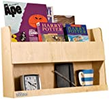 Tidy Books - The Children's Bookcase Company - The Original Wooden Bunk Bed Shelf and Bedside Storage for Childrens Rooms in Natural