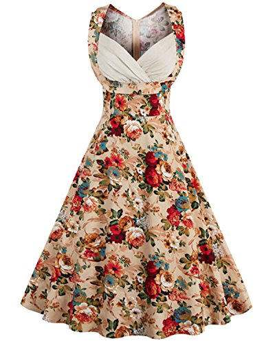 50/'S STYLE ROCKABILLY PINUP SWING  EVENING PARTY DRESS SIZES 6-20