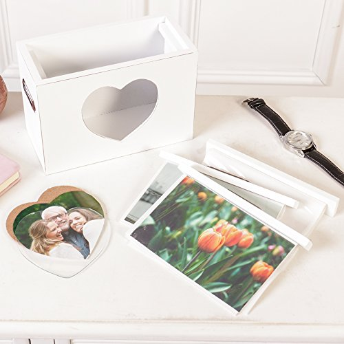 Wooden Photo Storage Box - The Perfect 5th Wedding Anniversary Gift (Z294)