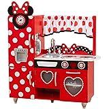 Kid Craft Disney Minnie Mouse's Vintage Kitchen ?Children's Settle Set? KidKraft Disney® Jr. Minnie Mouse Vintage Kitchen Genuine