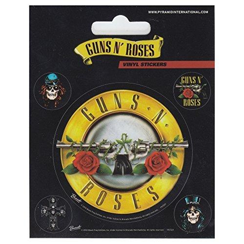 guns-n-roses-sticker-set-10x125cm-by-guns-n-roses