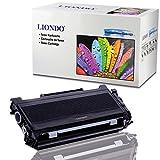 Liondo XXL Toner kompatibel zu Brother TN-2000 HL-2030 HL-2040 HL-2050 DCP-7010 7025 MFC-7225N 7420 7820N - Schwarz (Bk) 5.000 Seiten