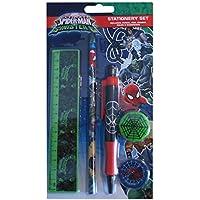 Spiderman-S 6-Set di cancelleria