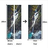 PANDABOOM Moutain Waterfall Home Decoration Sofa Plane Pastrol Mural Mit Aufkleber DIY Wallpaper 77X200Cm