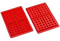 RKPM 4 Cavity Silicone Waffle Mold