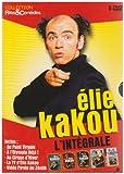 Elie Kakou : L'intégrale : A l'Olympia déjà / Au Point Virgule / Au cirque d'hiver / Vidéo pirate du Zénith / La TV d'Elie Kakou - Coffret 5 DVD