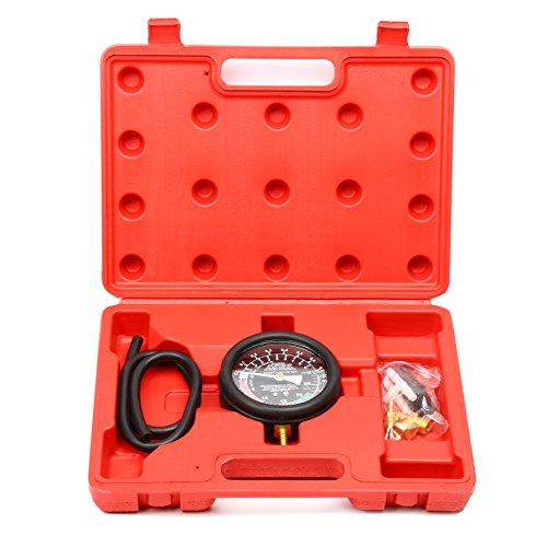 FreeTec Vakuumtester Unterdruck und Druck Tester Set Vakuum messen Benzinpumpe Drucktester Vakuum Tester