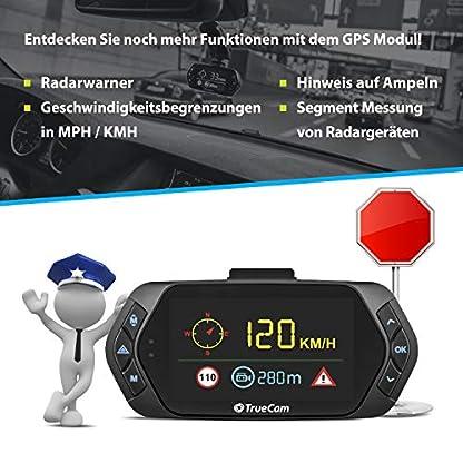 TrueCam-A6-Dual-Dashcam-Autokamera-Full-HD-1080p-mit-Rckkamera-Parkkamera-720p-Endlosschleife-Parkwchter-G-Sensor