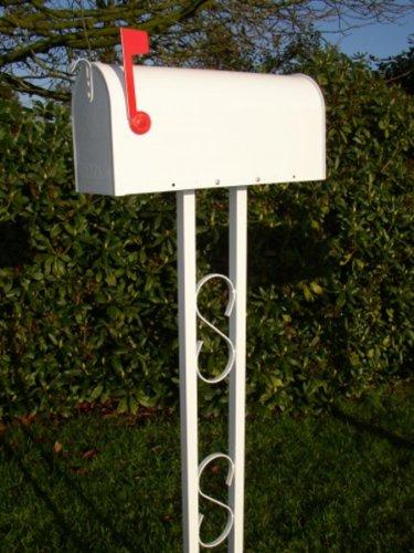 Amerikanischer Briefkasten weiß - 2