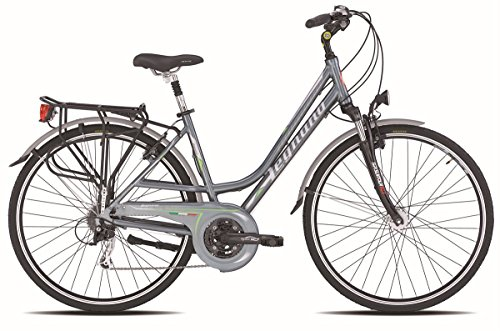 LEGNANO BICICLETA 401 CHIOGGIA LADY DINAMO 24 V TALLA 52 GRIS (CITY)/BICYCLE 401 CHIOGGIA LADY DYNAMO 24S SIZE 52 GREY (CITY)