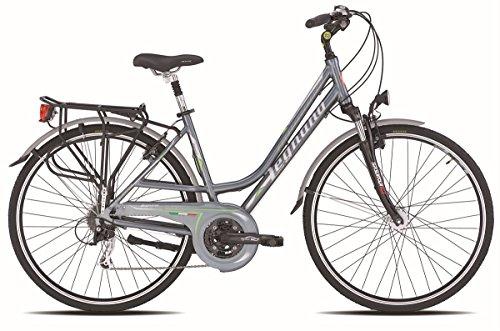 LEGNANO BICICLETA 401CHIOGGIA LADY DINAMO 24V TALLA 52GRIS (CITY)/BICYCLE 401CHIOGGIA LADY DYNAMO 24S SIZE 52GREY (CITY)