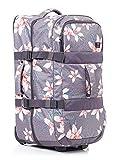 Roxy Long Haul Valise Extra Grand format avec roulettes femme rose/gris (Charcoal Heather Flower Field) 105L