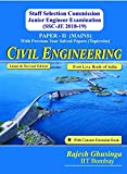 SSC JE Mains 2018-19 Civil Engineering