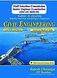 SSC JE Mains 2018-19 Civil Engineering