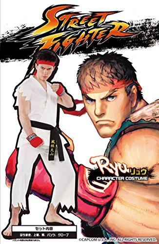 Street Fighter offiziellen Kostuem Ryu Kostuem Herren ~ 180cm (Ryu Kostüm Street Fighter)