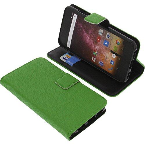 foto-kontor Tasche für Archos Core 50p Book Style grün Schutz Hülle Buch