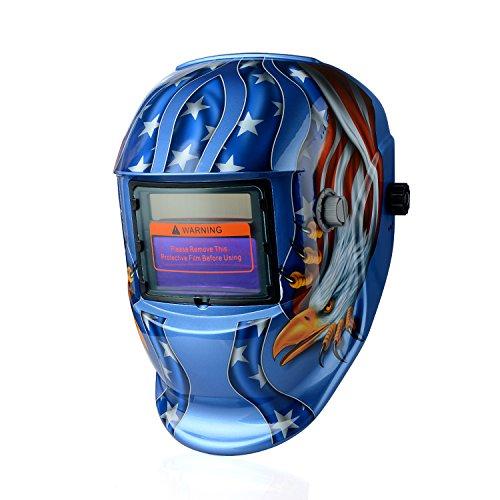 Casco de soldar solar con oscurecimiento automático máscara de soldadura nueva