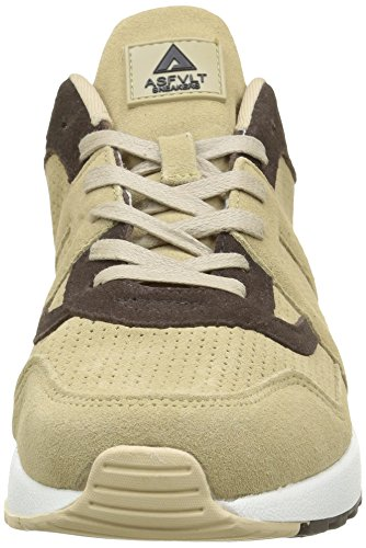 Asfvlt - City Run, Scarpe da ginnastica Unisex – Adulto Beige (Milk Chocolate)
