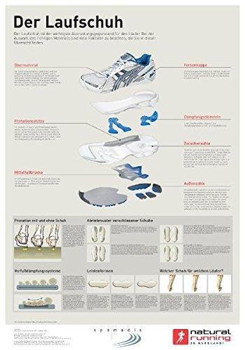 Der Laufschuh (natural-running-Lehrtafeln)
