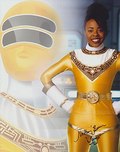 nakia-burrise-as-tanya-sloane-the-yellow-power-ranger-mighty-morphin-power-rangers-genuine-autograph