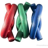 PhysioRoom Wassernudel, Schwimmnudel, Übung für die Rehabilitation, Poolnudel, Pool-Nudel, Pool-Noodle, Schwimmrolle Grün
