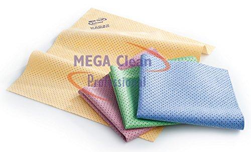 Preisvergleich Produktbild Mikrofaser Lochtuch 40x35cm grün Mega Clean