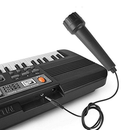 Gosear Multi-Funktion 61 Tasten Kinder Elektronische Orgel Tastatur Klavier Kind Musikalische Lehre Spielzeug mit Mikrofon Und EU Power Netzkabel - 4