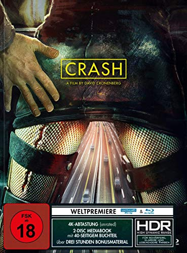 Crash - Mediabook Modern  (4K Ultra HD) (+ Blu-ray)