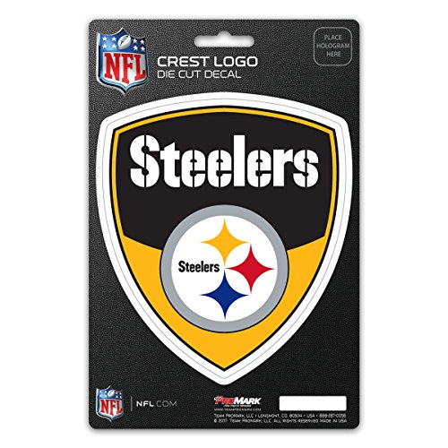 Team ProMark NFL Pittsburgh Steelers Shield Aufkleber