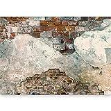 murando - Vlies Fototapete 500x280 cm - Größe Format XXL- Vlies Tapete - Moderne Wanddeko - Design Tapete - Ziegel Ziegelstein f-A-0500-x-c