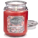 Candle-lite  Duftkerze im Glas - Apple Picking (510g) - angenehmer Duft von frischen Äpfeln und Buttercreme - Kerze mit bis zu 110 Stunden Brenndauer