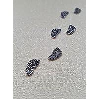 24 x Fairy Door Footprints, SuperHero Footsteps, Fairy Door Accessories