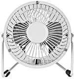 Nerd Clear Tisch-Ventilator Air-Cooler Universal Camping sehr leise USB ca. 15cm Wohn-Mobil Wohn-Wagen Boot Kühler Raum-Lüfter Luft-Erfrischer Lüftung Venti Klima Luft-Erfrischer Lüftung