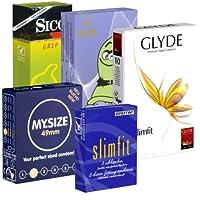 Der Kondomotheke® Special Tight Pack - 5x engere Kondome (Erotim, My.Size, Sico, Amor, Glyde) - Probierset! preisvergleich bei billige-tabletten.eu