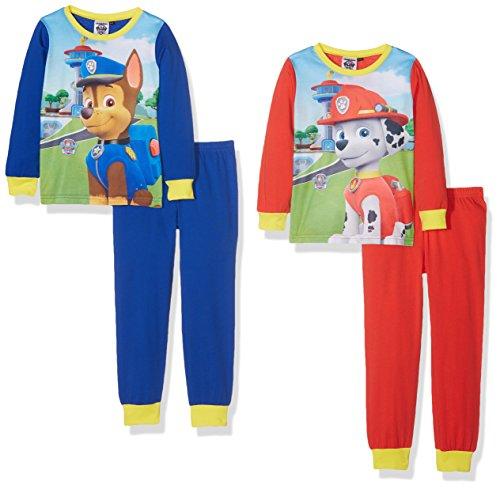 Aykroyd's Jungen Zweiteiliger Schlafanzug Boys Paw Patrol 2er Pack, Multicoloured (Royal/R Preisvergleich