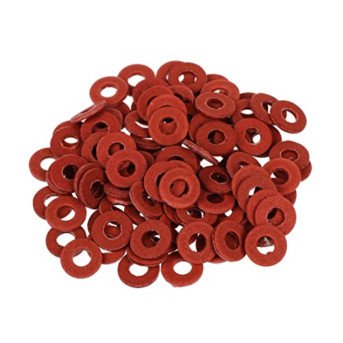 Preisvergleich Produktbild XZANTE 100er rot Motherboard Schraube isolierende Faserscheiben