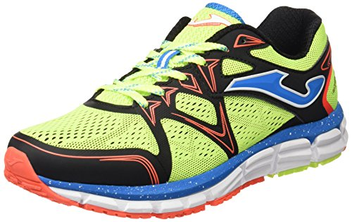 Joma Scarpe Running Uomo R.Super Cross 611 Fluor-Black 40 Flúor
