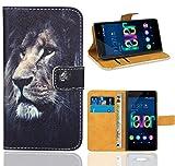 Wiko Fever 4G Handy Tasche, FoneExpert Wallet Case Flip
