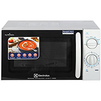 Electrolux 20 L Solo Microwave Oven (S20M.WW-CG, White and Black)