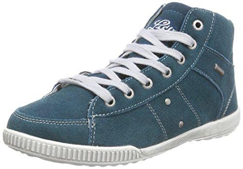 Lico Valerie Damen Hohe Sneakers Türkis (petrol/grau)