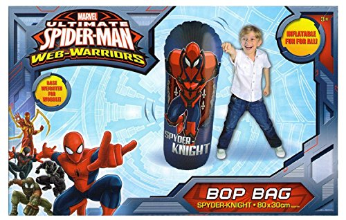 Image of Ultimate Spider-Man Web-Warriors Bop Bag Inflatable Toy (Spider-Man)