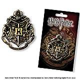 Noble Collection Hogwarts Crest Gun Metal Pin