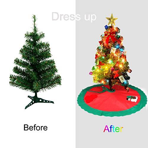 Künstlicher Weihnachtsbaum Außen.Tumao Weihnachtsbaum Led Künstlicher Tannenbaum Weihnachtsbaum 65cm